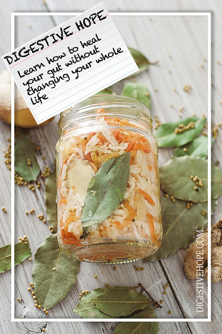 GUT HEALTH 101 -    Carrot and Cabbage Kraut from www.digestivehope.com