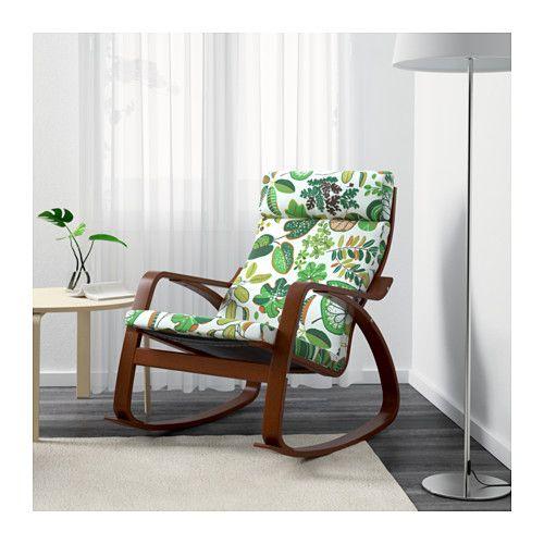 POÄNG Rocking chair - Simmarp green - IKEA