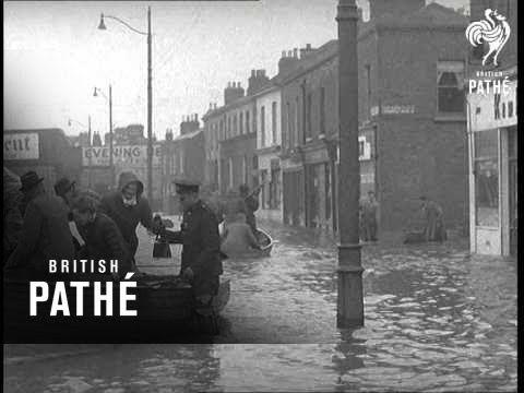 Dublin - Storm Damage  (1954)