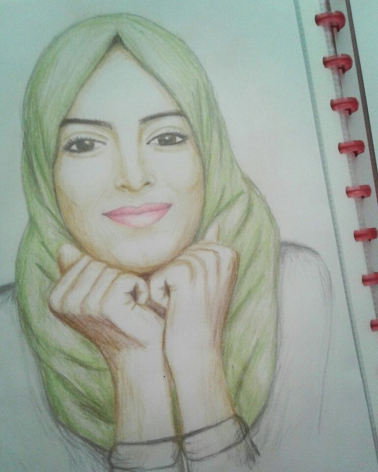 This is one of my drawings.. Huda
