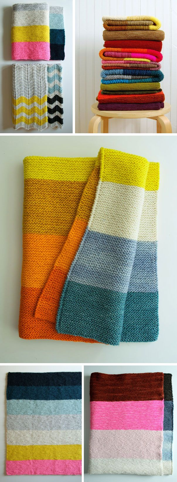 Colorblock knitting  http://ninainvorm.punt.nl/