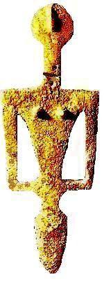 Scultura prenuragica - Madre Mediterranea (Sardegna, III millennio a.C.). Madre Mediterranea (Sardaigne), 3500 av. J.-C. Sardinia - Neolitic sculpture - Scultura neolitica - Sassari (Porto Ferro)