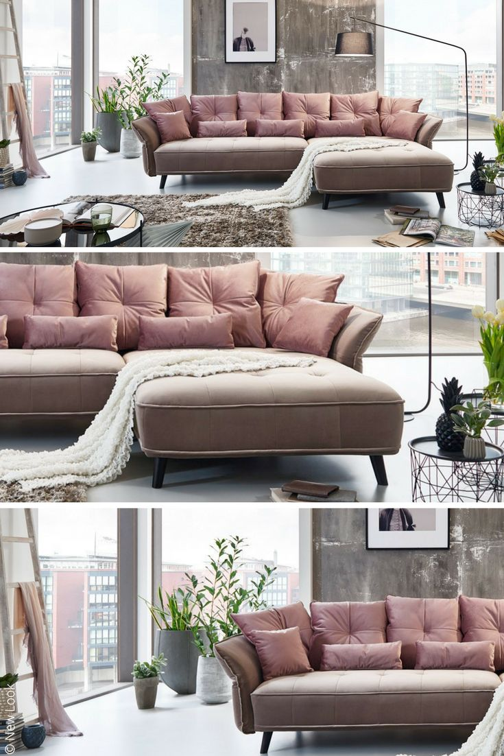 die besten 25 rosa sofa ideen auf pinterest hellrosa. Black Bedroom Furniture Sets. Home Design Ideas