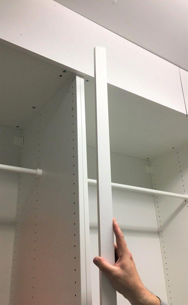 How To Make Ikea Pax Look Like Amazing Custom Cabinetry