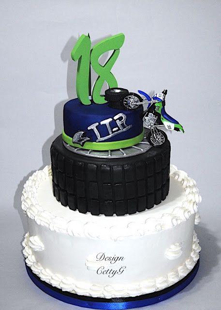 Conosciuto Oltre 25 fantastiche idee su Torte di compleanno a tema moto su  NY02
