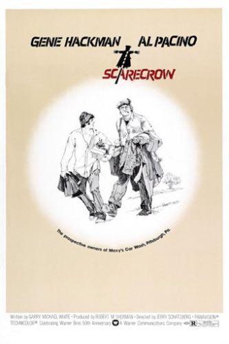 SCARECROW movie poster 1973 GENE HACKMAN AL PACINO classic road film 24X36
