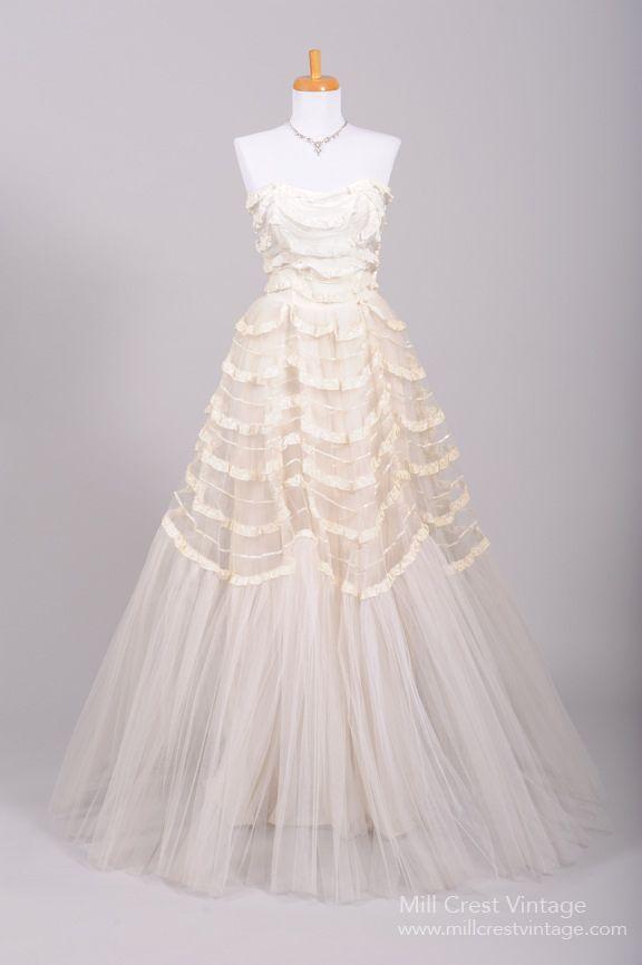 51 best Mill Crest Vintage Wedding Dresses images on Pinterest ...