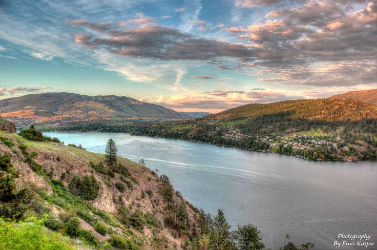Vernon (BC) Canada  city photo : Kalamalka Lake, BC Canada. Vernon BC. Canada Curated by ...