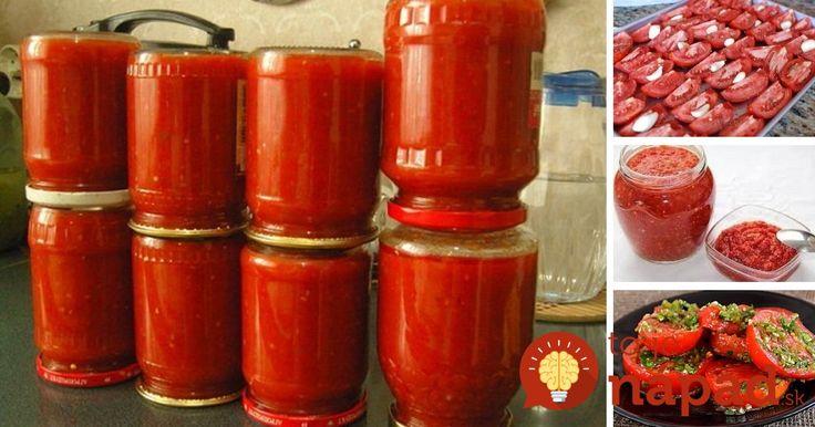Tešíte sa z úrody domácich paradajok? 5 skvelých receptov, ako ich uchovať aj na…