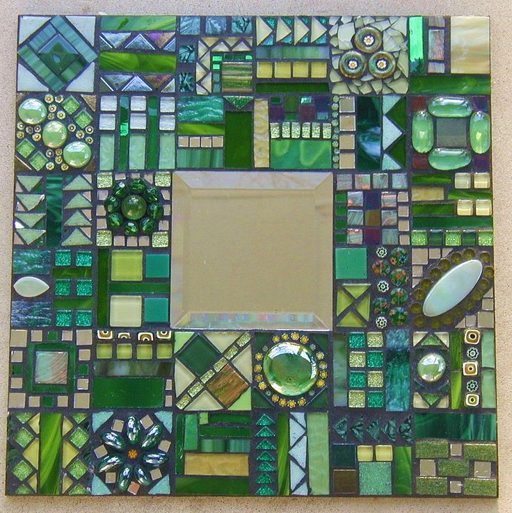 Mosaic mirror Flickr                                                                                                                                                      More