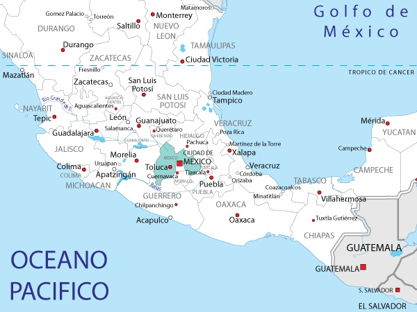 The 25 best Mapa estado de mexico ideas on Pinterest  Mexico map