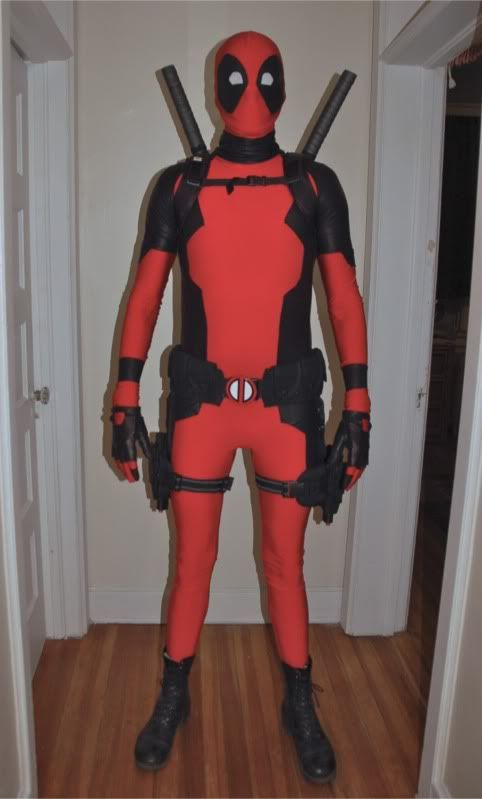 Mega awesome custom Deadpool costume!!! | Cosplay Ideas ...