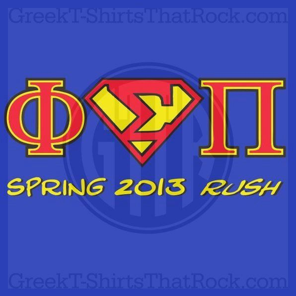Phi Sigma Pi Rush Fraternity Buy all your Fraternity and Sorority apparel with GREEKTSHIRTSTHATROCK today 800-644-3066 <3