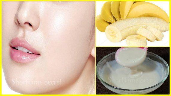Permanent Skin Whitening Banana Facial | Get Fair- Spotless- Glowing- Milky Whiten Skin at Home