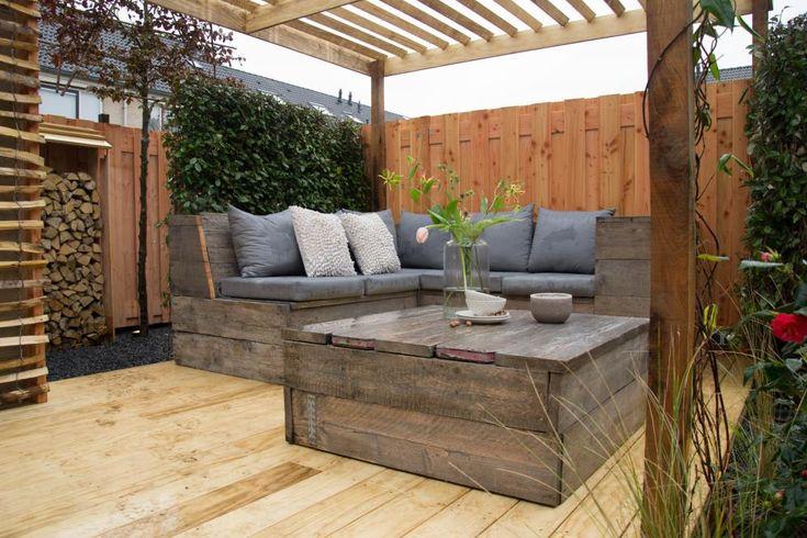 25 beste idee n over tuin spiegels op pinterest buiten for Bouwtekening veranda eigen huis en tuin
