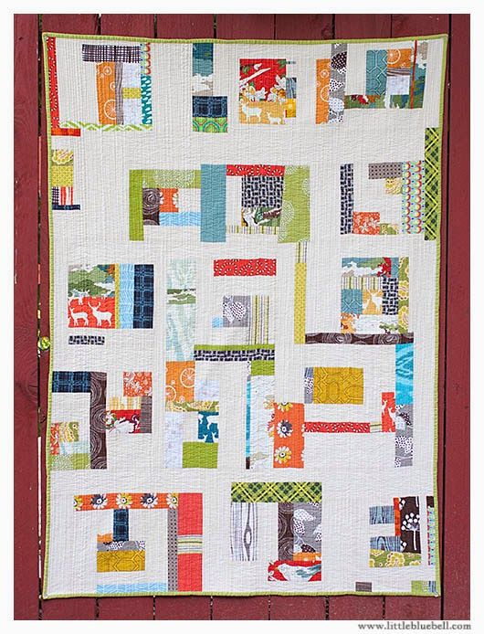 Little Bluebell: Improv Quilting with Jacquie Gering