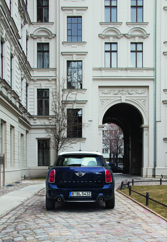 From Kreuzberg to Prenzlauer Berg.  #MINI #Countryman #Berlin