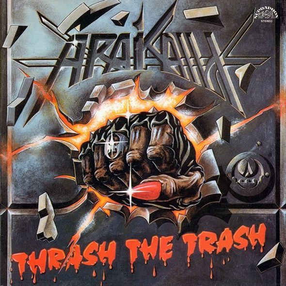 "Magick Disk Musick | ARAKAIN ""Thrash The Trash"" [LP, 1990] | online store & record label"
