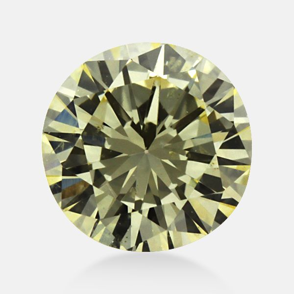 0.30 ct Round Yellow -Y3 SI1 Clarity 4.25 mm - 2.55 mm earth mine Loose Diamond