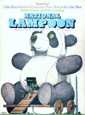 National Lampoon Magazine  # 28 - July 1972 pdf Back Issues Collection  Archives Download DVD Ebay