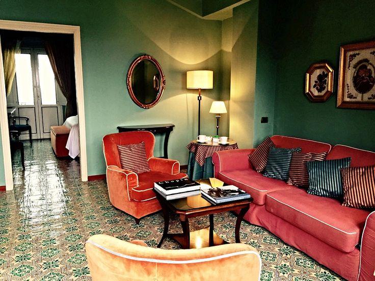 Room of Hotel Villa Ducale in Taormina