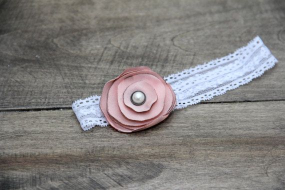 Vintage Baby headband by BabyFripperies on Etsy