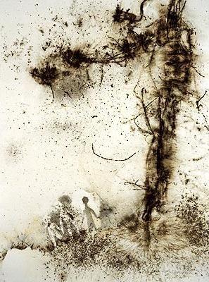 Arte Instalacao Explosao Polvora Cai Guo-Qiang Contemporanea