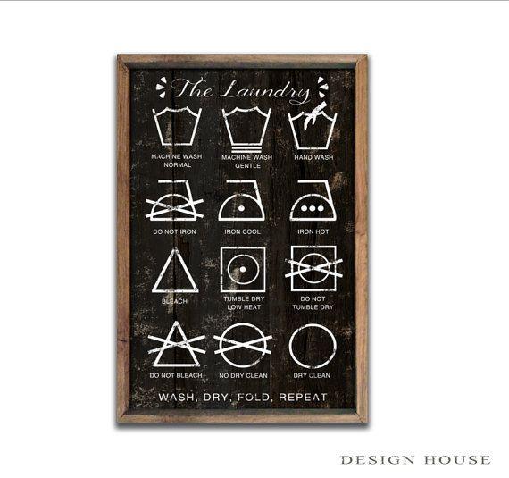 Laundry Symbols Wall Art Amazing Best 25 Laundry Symbols Ideas On Pinterest  Godliness Meaning Inspiration