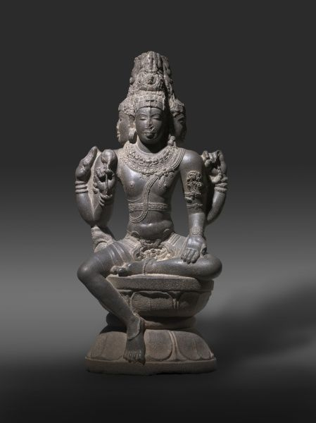 Shiva as Brahma, late 900s or early 1000s South India, Chola dynasty, late 10th - early 11th century