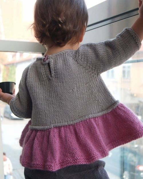 Tutu Top knitting pattern by Lisa Chemery - Frogginette Knitting Patterns