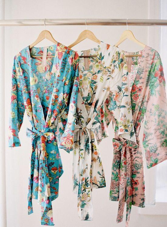 Kimono Robes For Bridal Party