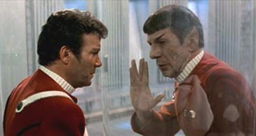 Star Trek II: Wrath of Khan - there's a huge lesson in this movie about the difference between being self-centered and being self-ish. Trekkies rejoice!: Trek Ii, Stars, Movies, Startrek, Leonard Nimoy, Spock, Friend, Star Trek