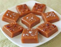Bacon Caramels photo - Despite what their name might suggest, Bacon Caramels actually have a subtle bacon taste, since the recipe does not call for any actual bacon in it. Rather, they are made with bacon fat instead of butter, so they have a slight undertone of a smoky, savory flavor. Of course, you can always top them with some crumbled bacon to boost the pork factor!