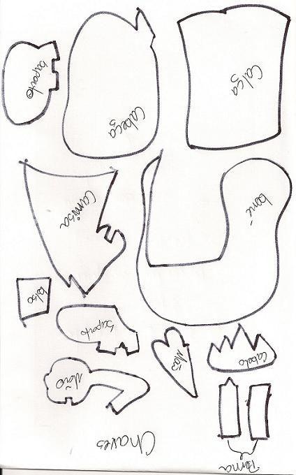 Como hacer el gorro del Chavo del 8 en foami - Imagui