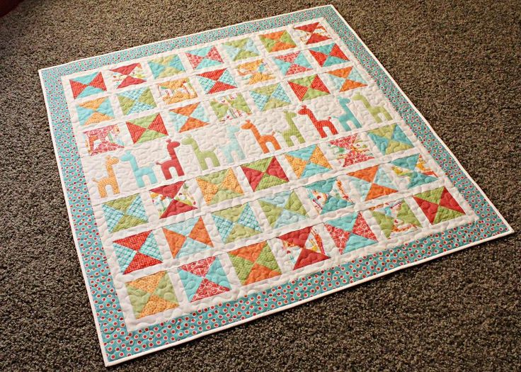 278 best Quilts for Babies and Kids images on Pinterest | Baby ... : giraffe baby quilt pattern - Adamdwight.com