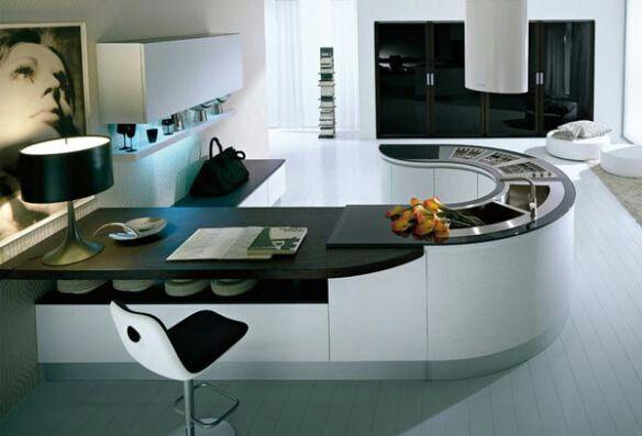 Modern Home Decor Kitchen modern #kitchen #bar #white #home #decor #design #interior