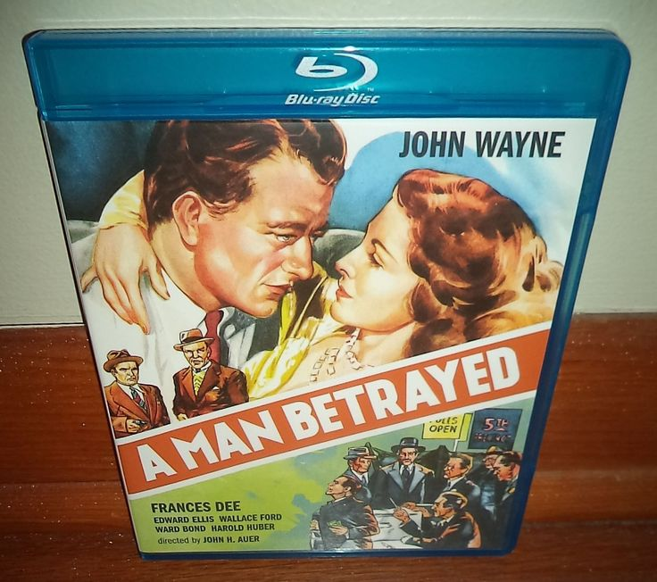 John Wayne A Man Betrayed 1941 Film Frances Dee Olive Films Blu Ray Superb Cond 887090057608 | eBay