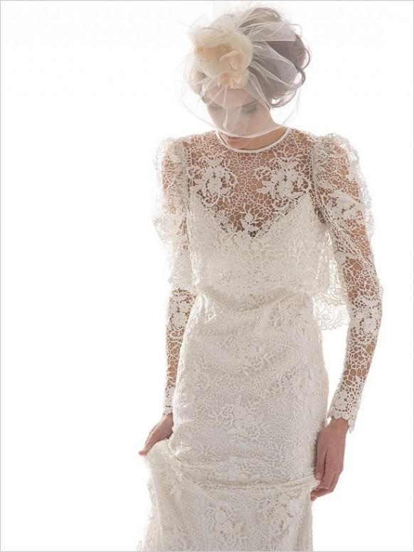 Guipure Robes de mariée Elizabeth Filmore