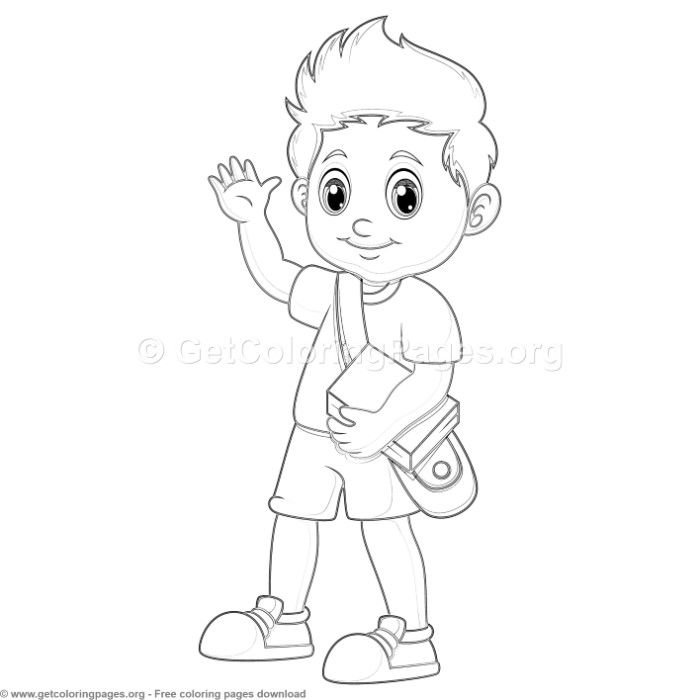35 Back to School Coloring Pages - GetColoringPages.org # ...