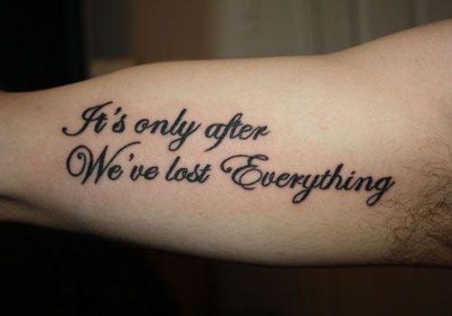 unique tattoo quotes unique chest tattoo quotes unique life quotes ...