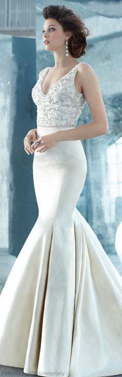 Vestido de Noiva ♡ Lazaro   Bridal 2013 #SenhoraInspiracao