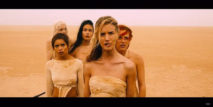 First Look at Rosie Huntington Whiteley & Abbey Lee Kershaw in the Mad Max: Fury Road Trailer