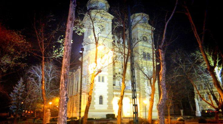 Saint Stephen Catholic Church, Kiskunfélegyháza, Hungary, Nikon Coolpix L310, HDR-Art photography