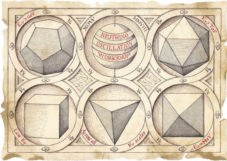 This sacred geometry set includes a case to store the ... Platonic Solids Art