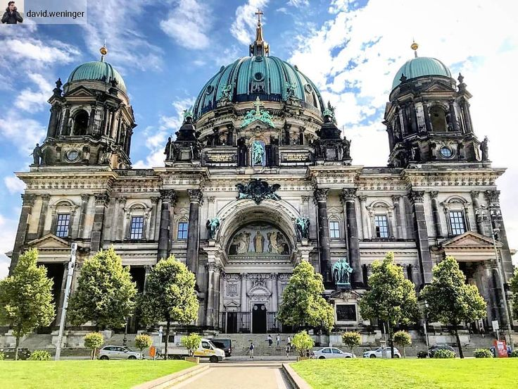 Berlin Germany  . Throwback to my interrail-trip through Europe this summer. Our first stop was Berlin we had a perfect weather. One of my highlights was the Berlin Cathedral as you can see it is a very graceful building with a lots of history.  . If you are going to stay in Berlin - don't miss this sight  . #berlin#germany#traveling #tflers #vacation #visiting #instatravel #instago #instagood #trip #holiday #photooftheday #fun #travelling #tourism #tourist #instapassport #instatraveling…