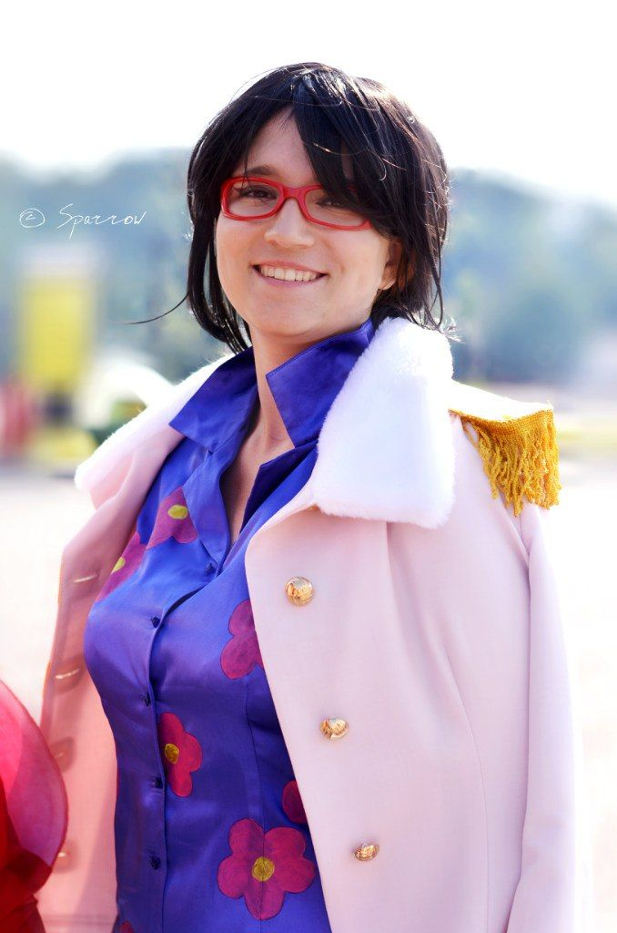 Tashigi from One Piece by Tail  (Anastasia Palamar)   #One Piece #Cosplay #Tashigi #Anime