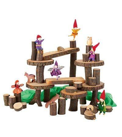 Magic Wood - Eco Construction Blocks 22 pieces Fun, imaginative and pretty darn gorgeous #EntrophyWishList #PinToWin