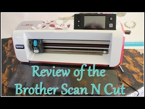 ▶ Brother Scan N Cut part 1: paper scanning/cutting - YouTube