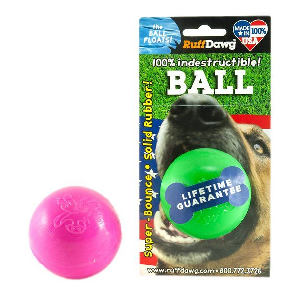 Best Ball For Power Chewers Forget Tennis Balls That Get Soggy