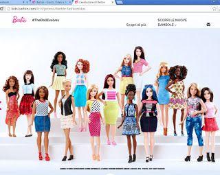 "Pinkylife: ""Curvy"" Barbie dolls: Why I don't like them"
